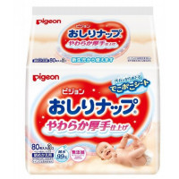 PIGEON Baby Wipes – Japan 99% Pure Water  (80 * 3)